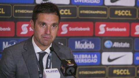 """Diego Alonso: """"El triunfo es producto del respaldo que tenemos de la dir..."""