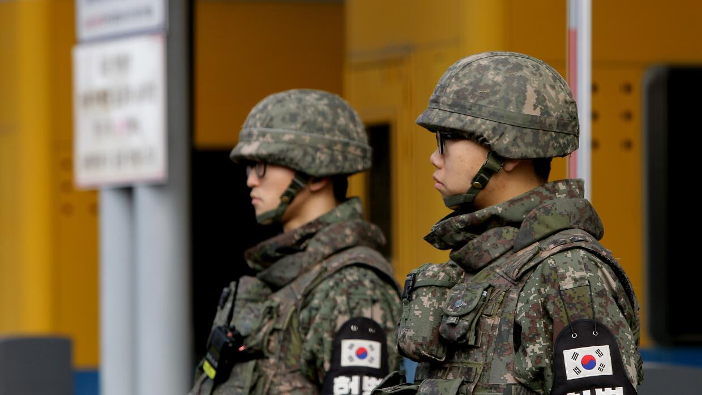 Militares Corea del Sur