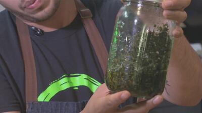 Este chef latino usa la marihuana como uno de los ingredientes principales en su restaurante