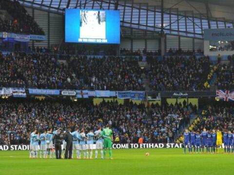 Manchester city y Chelsea se enfrentaron en la Copa de Inglaterra (FA Cu...