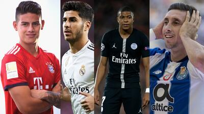 No solo es Héctor Herrera: Mbappé, Asensio y James, los fichajes que quieren en la Juventus