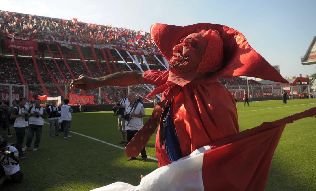Dios le dio a la Argentina la cumbia y las canchas de fútbol GettyImages...