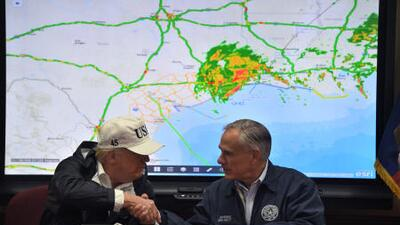 President Trump visited Texas on Tuesday and attended a briefing on the...