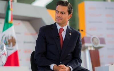 Enrique Peña Nieto durante el foro Impulsando a México