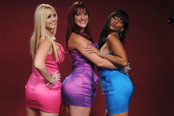 De izquierda a derecha: Olga, Beatriz y Muriel derrochan sensualidad y t...
