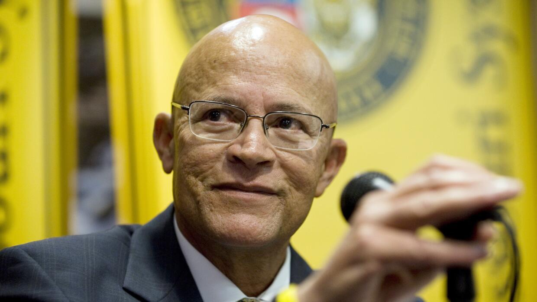 Michael Middleton, presidente interino de la U. de Missouri