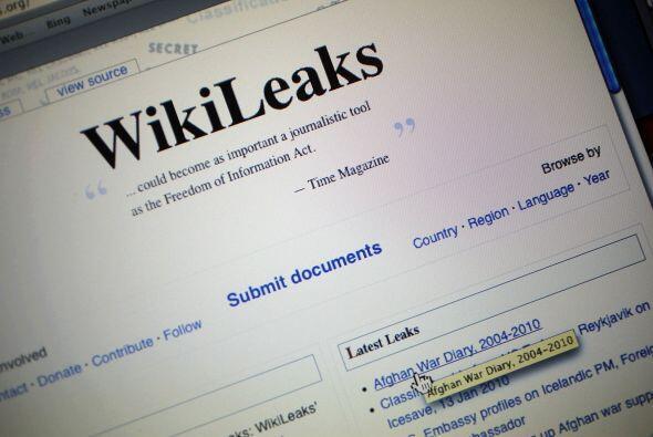 WikiLeaks es una organización periodística sueca sin fines de lucro en c...