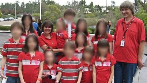 Los Turpin solían tomarse fotos familiares que compartían en su cuenta d...