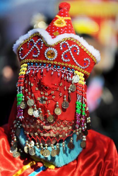 Los vestuarios tradicionales adornaron las calles de la Gran Manzana.