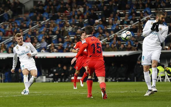En fotos: Fiesta y exhibición del Real Madrid pensando en el PSG 9166871...