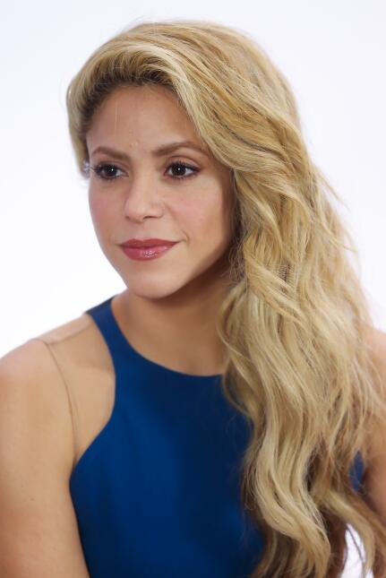Shakira promueve su perfume 'Dance' en Sao Paulo.