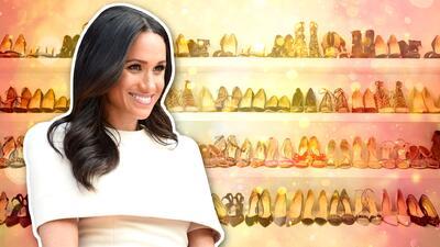 Meghan Markle usa zapatos que le quedan grandes y aquí te decimos por qué