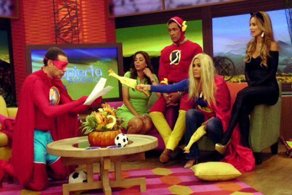 Nuestros superhéroes recomendaron a todos los niños y señoras que ven el...