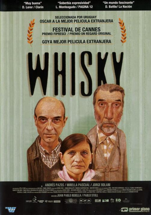 Whisky(2004), UruguayDirector: Juan Pablo Rebella, Pablo StollReparto: A...