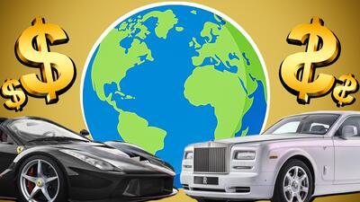 Los carros mas caros del mundo