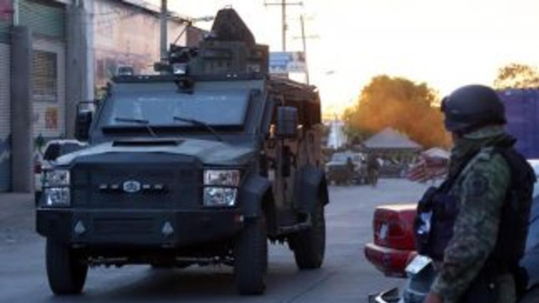 Las FFAA mexicanas, en la lucha contra el narcotráfico.