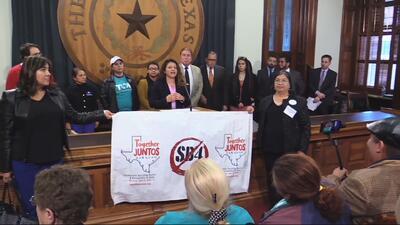 Coalición Unidos por Texas llega al capitolio estatal para plantear sus objetivos en temas de inmigración