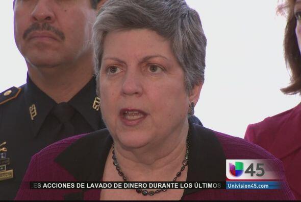 La secretaria de Seguridad Nacional, Janet Napolitano, dice que quiere u...