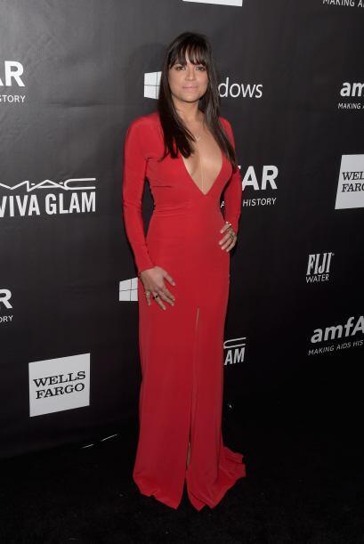 En cada evento vemos mucho más atrevida y sensual a Michelle Rodriguez,...