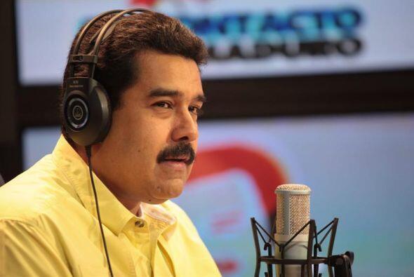 Maduro acusó a la coalición opositora Mesa de la Unidad Democrática (MUD...