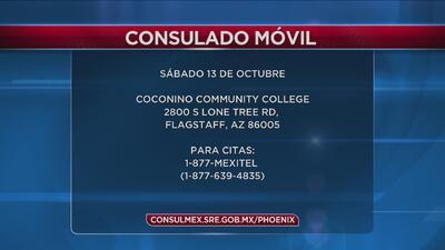 El consulado móvil de México en Phoenix visitará el norte de Flagstaff el 27 de octubre