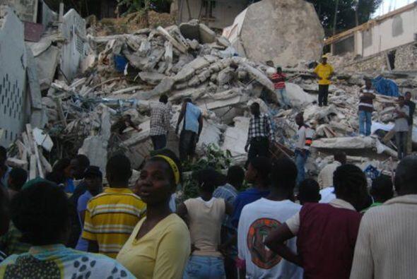 Recién había comenzado 2010 y Haití fue sorprendido...