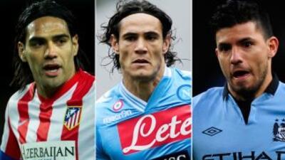 Estos tres excelentes delanteros sudamericanos están en la mira de diver...