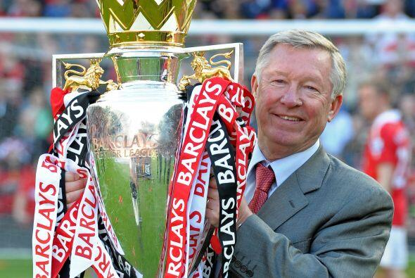 Uno más que se suma al extenso palmarés de Sir Alex Ferguson.