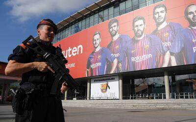 Así se reforzó la seguridad en el partido del Barcelona ante el Betis de...