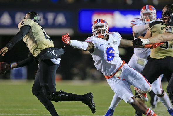 Selección 3 Jacksonville Jaguars: OLB Dante Fowler Jr., Florida (AP-NFL)