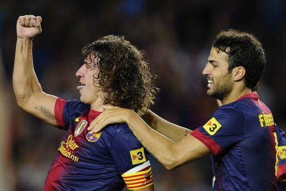 El barcelonista hace pocos goles, pero normalmente los concreta de esta...