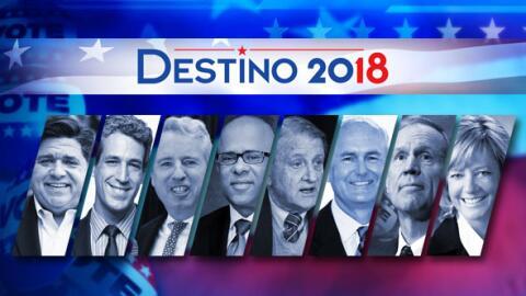 Univision Chicago mandó preguntas a los precandidatos demócratas a la gu...