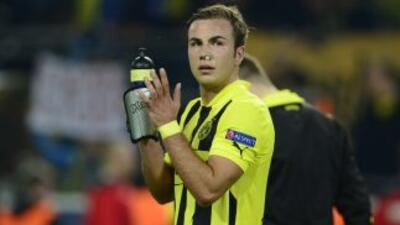 La duda de si Götze estará con el Dortmund en la final de la Champions L...