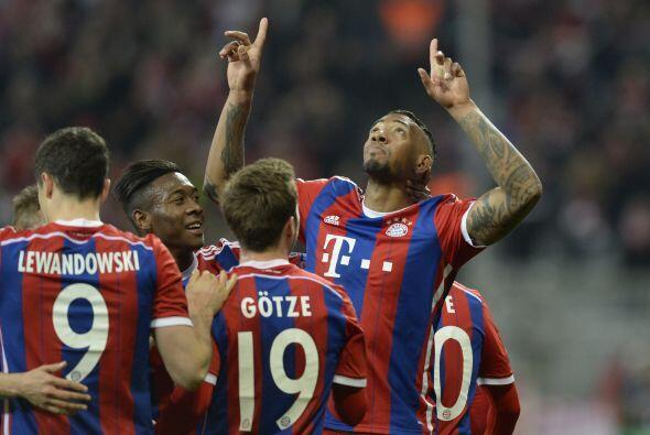 Pasaría media hora de juego para que llegara el segundo gol del Bayern e...