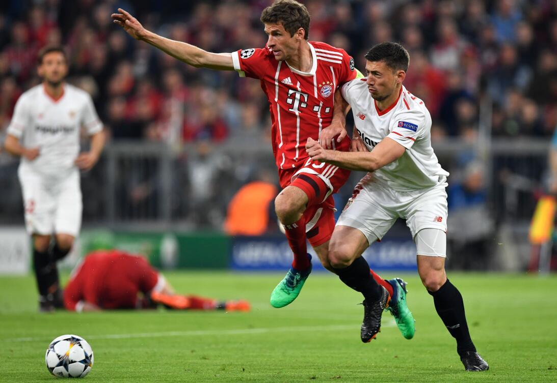En fotos: Bayern Munich es semifinalista al empatar en casa contra Sevil...