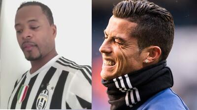 La desentonada canción que Patrice Evra le dedicó a Cristiano Ronaldo