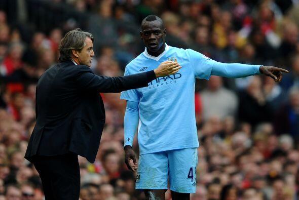 Roberto Mancini no paraba de darle instrucciones a los suyos, no se conf...