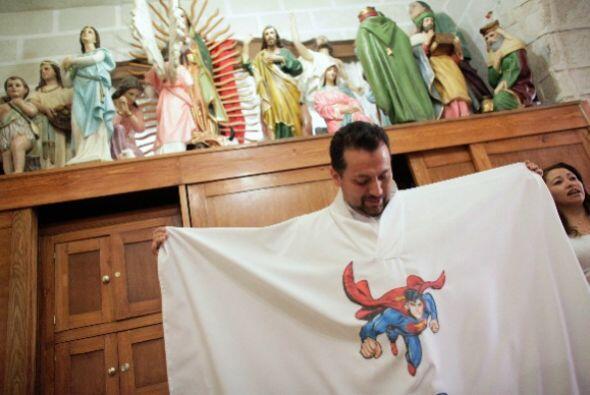 En febrero el sacerdote Humberto Álvarez Saucedo robó la atención en Méx...