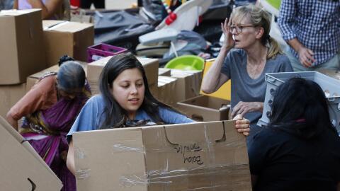 Cientos de instituciones están recolectando donaciones de comida...