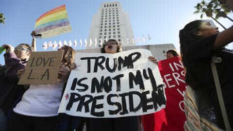Activistas en Los Ángeles se preparan para llevar a cabo una seri...