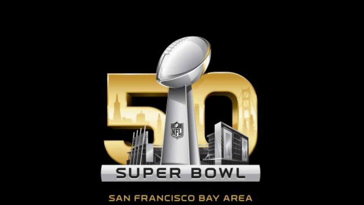 La National Football League dio a conocer los logos para el Super Bowl 5...