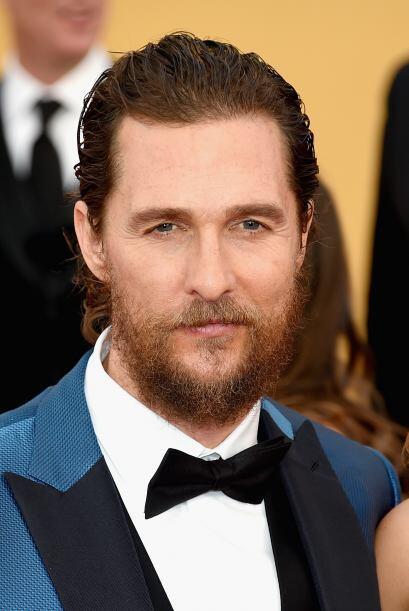 Pero Matthew, ¿esa barba horrenda qué?
