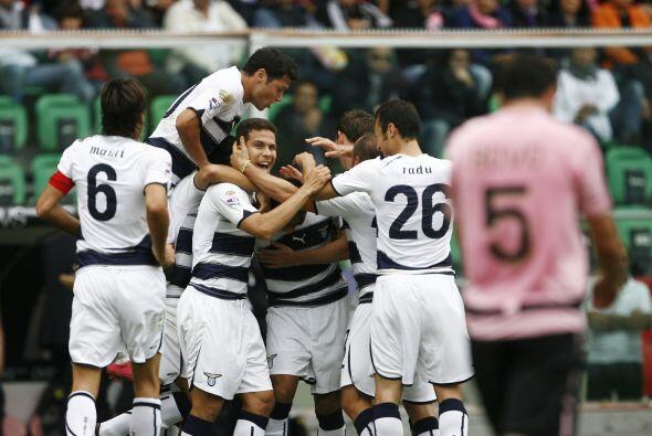 En la jornada dominical en la fecha 9 de la Liga italiana, Lazio continu...