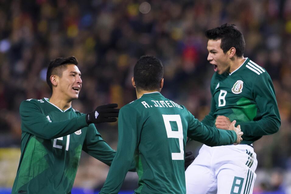Califcamos México vs. Bélgica