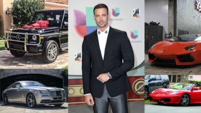 El célebre actor cubano posee una colección de vehí...
