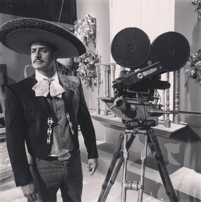 Ricardo Franco es Jorge Negrete