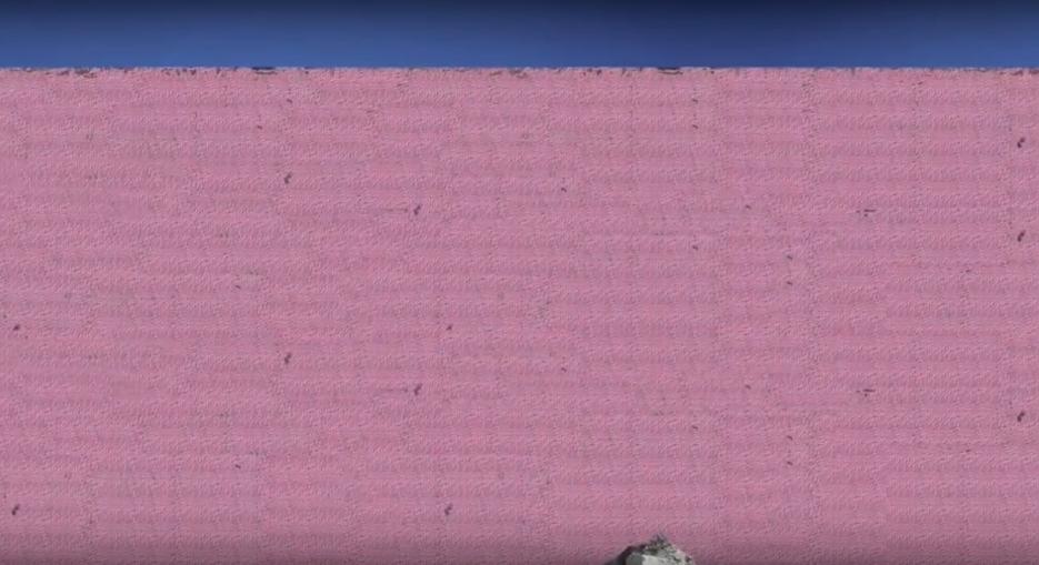 Muro fronterizo de fantasía