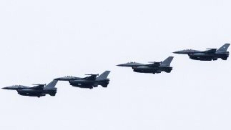 Aeronaves aliadas en combate contra ISIS.