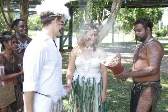Los ritos de las bodas también son un campo para explotar la excentricid...