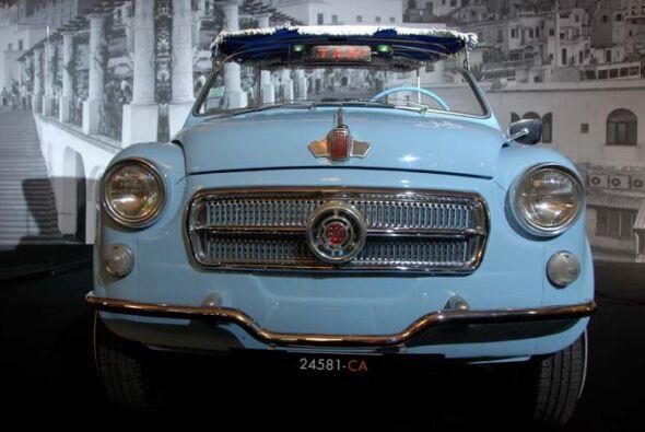 Taxi de Plage Fiat 600 D Jolly 1963 Este peculiar vehículo sólo se podía...